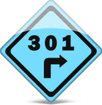 301 redirect sign