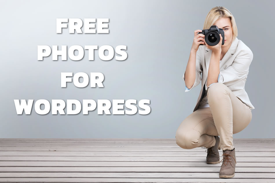 Get free photos for your WordPress site