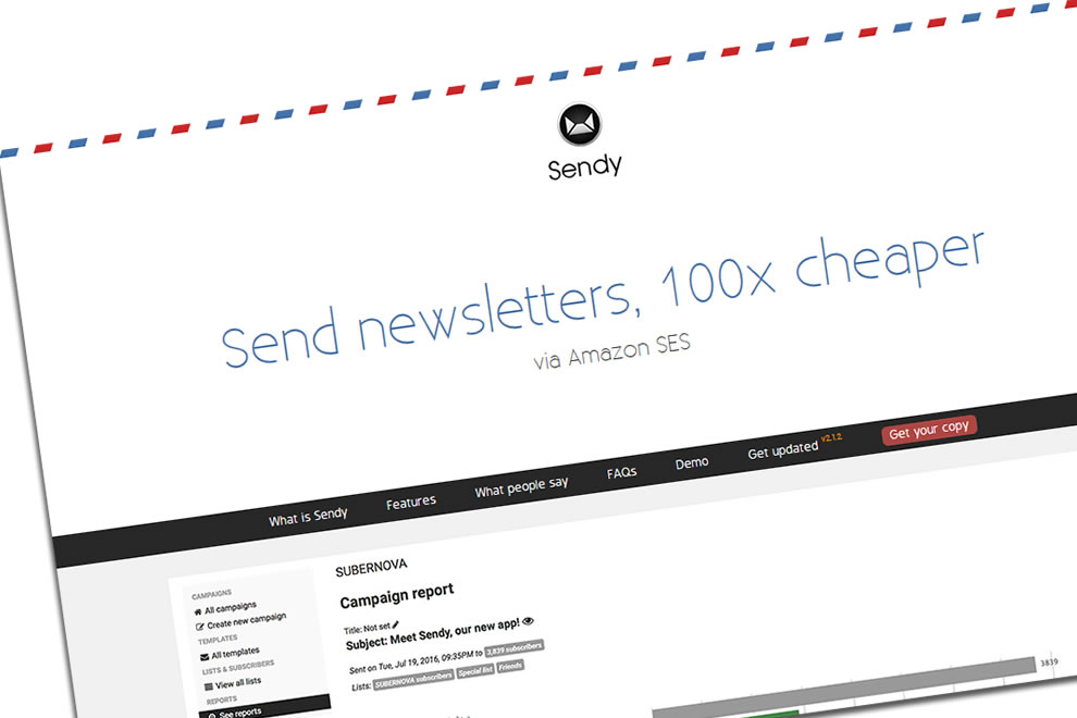 Sendy Newsletter saves you money