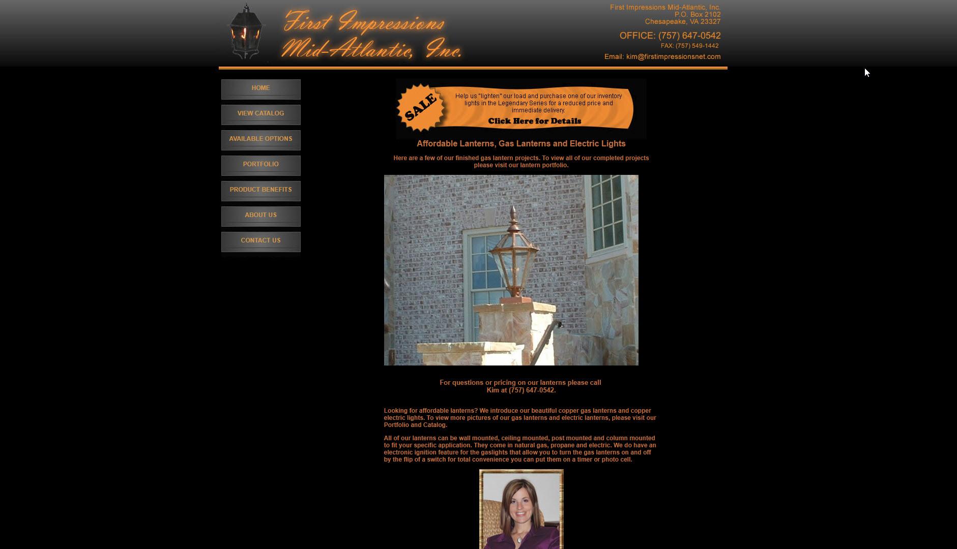 First Impressions Mid-Atlantic Web Design Portfolio